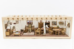 Native Ameican Doll House Diorama.