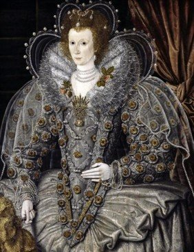 "16TH CENTURY ENGLISH SCHOOL""QUEEN ELIZABETH OF ENGL"
