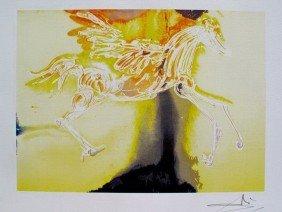 Salvador Dali Dalinean Horse PEGASUS Limited Ed. L
