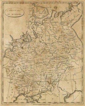 """AARON ARROWSMITH""""RUSSIA IN EUROPE, 1812"""""""