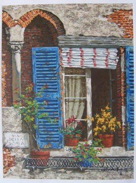VIKTOR SHVAIKO WINDOWS OF ITALY LIMITED ED. HAND