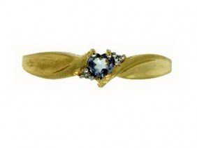 TANZANITE RING  - 10 KT GOLD