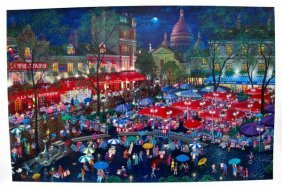 Alexander Chen A NIGHT IN MONTMARTRE Limited Ed. H