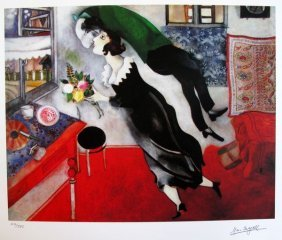 Marc Chagall BIRTHDAY Limited Ed. Small Gicl�e