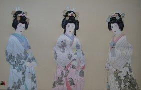 HISASHI OTSUKA THE THREE ETERNAL BRIDES HAND SIGNED