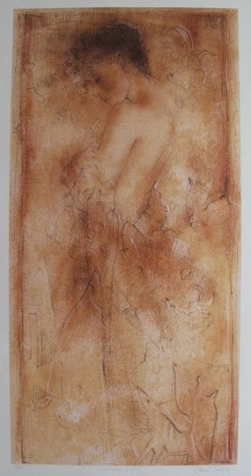 JANET TREBY MYSTICAL LIGHT HAND SIGNED LIMITED ED. SERI