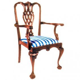 Stuart Chippendale Arm Chair