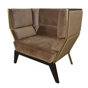 Brown Artisin Chair