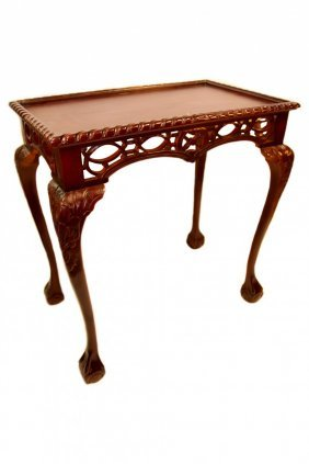 Gothic Chippendale Table