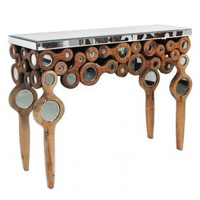Mingled Wood Console