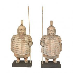 Asian Soldiers - Set Of 2