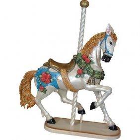 Prancing Carousel Horse