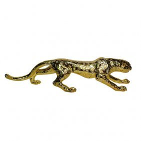 Gilt Leopard - Large