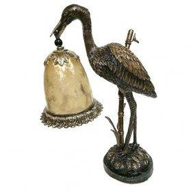 Crane Lamp