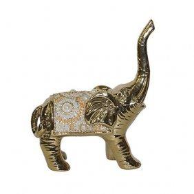 Radiant Pearl Elephant
