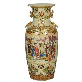 Royal Geisha Vase (24in)