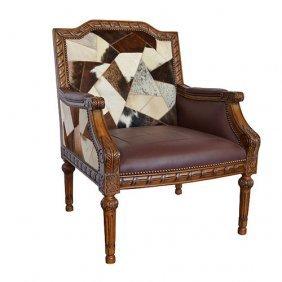 Leather & Hide Asstd Chair 1