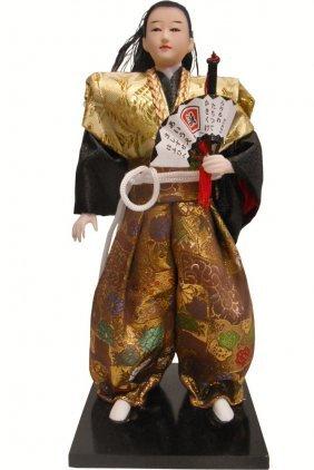 Oriental Samurai Doll
