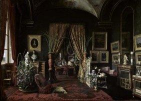 Giuseppe Castiglione - Empress Eugenie In The Salon At