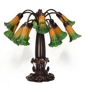 Twelve Lily Lamp