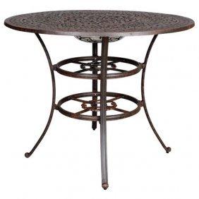 Fiesta Round Bar Table