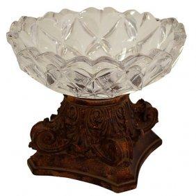 Fancy Glass Corinthian Bowl