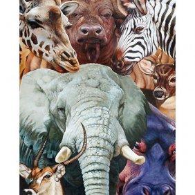 African Safari Gallery Wrap