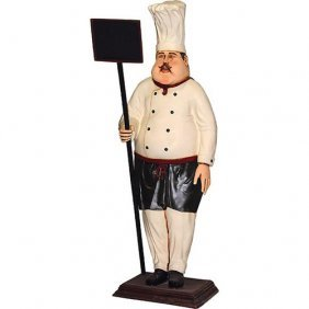 Large Cook With Chalkboard