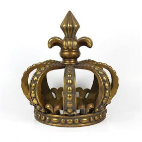 Crown Table - Gold