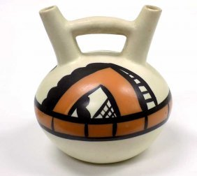 Betty Sally - American Indian Pottery Vessel Betty