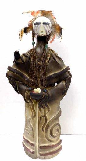 Susan M. Harvey - Weeping Eye Pottery Indian Susan M.