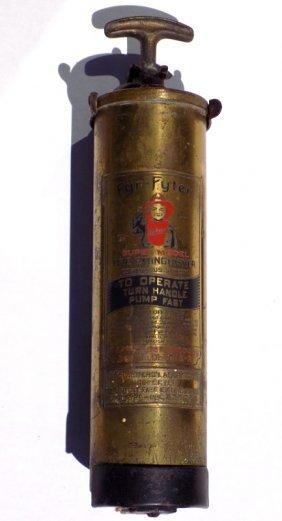 Fyr Fyter Super Model Fire Extinguisher