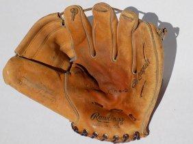 Rawlings - Mickey Mantle Signed Baseball Glove