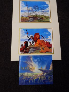 Walt Disney The Lion King Animation Cels