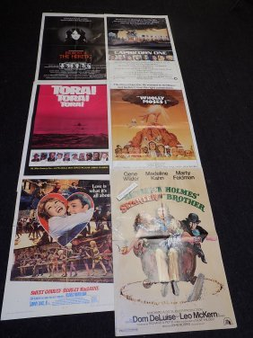 10 Vintage Movies Posters Assortment