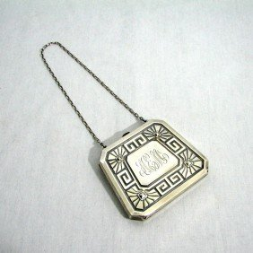 Art Deco Sterling Silver Purse