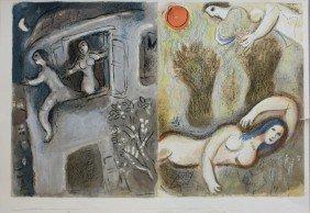 Marc CHAGALL (1887-1985) � Couple � Affiche Avant