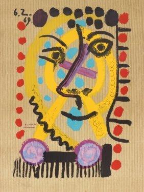 Pablo Picasso (1881-1973), D'après La Belle Mère -