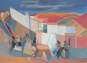 Camille Hilaire (1916-2004) Espagne - Tolède - 1951