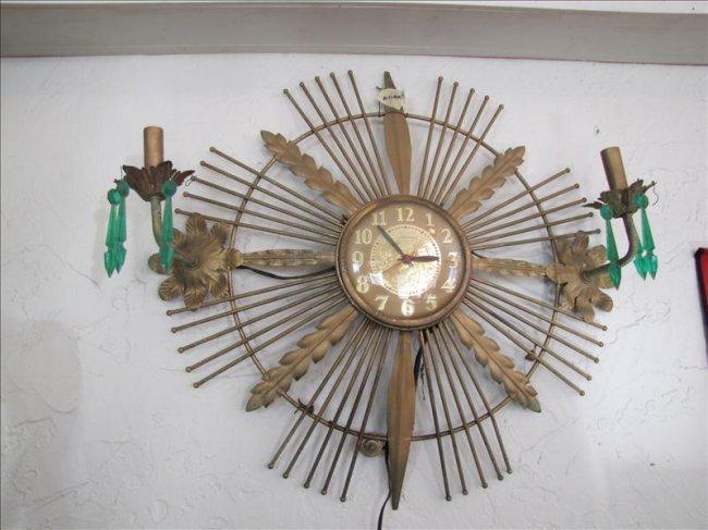 582 Vintage Zenith Wall Clock Lot 582