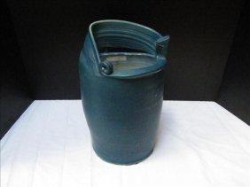 Dark Blue Heavy Pottery Pot