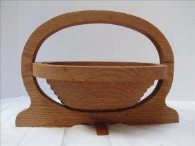 Wooden Coil Fruit Basket