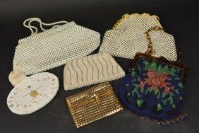(2) Whiting & Davis, (4) Vintage Ladies Handbags