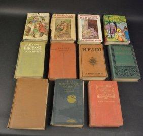 (13) Vintage Children's Books