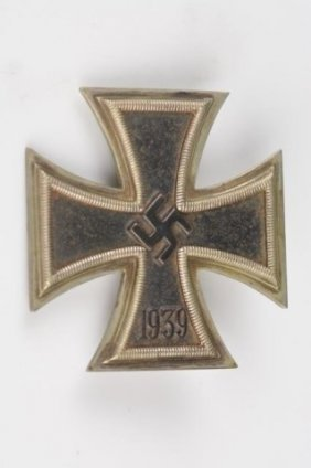 Wwii 1939 German Iron Cross Nazi Badge