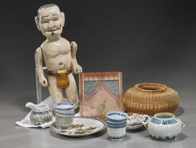 Group Of Various Asian Items