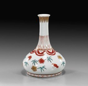 Chinese Porcelain Bottle-Form Vase