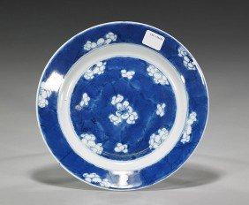 Kangxi Blue & White Porcelain Dish