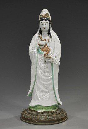 Antique Japanese Porcelain Kannon