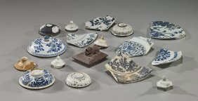 Collection Of Chinese Ship Wreck Porcelains